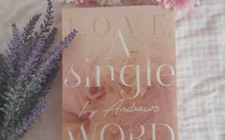 "Cover ""A single Word"""
