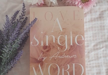 """Cover """"A single Word"""""""