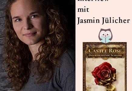 "Autorenfoto Jasmin Jülicher & Cover ""Castle Rose"""