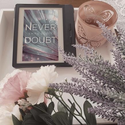 """Cover """"Never Doubt"""" (E-Book)"""