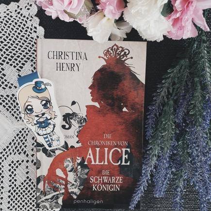 """Cover """"Die Chroniken von Alice - Die schwarze Königin"""""""