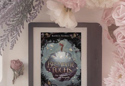 """Cover """"Brombeerfuchs"""" auf dem E-Reader"""