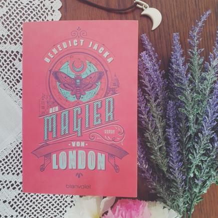 """Cover """"Der Magier von London"""""""