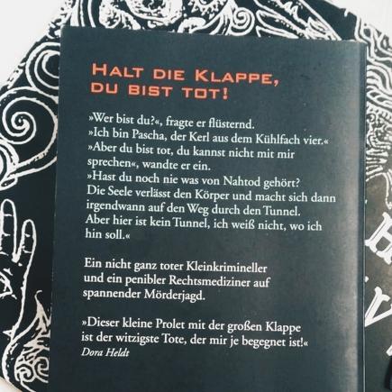 """Klappentext """"Kühlfach 4"""""""