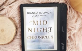 "Cover ""Midnight Chronicles"" auf dem E-Reader"